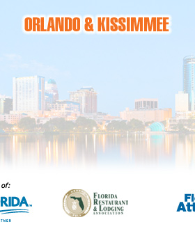 About Orlando and Kissimmee Florida Welcome GuideMap